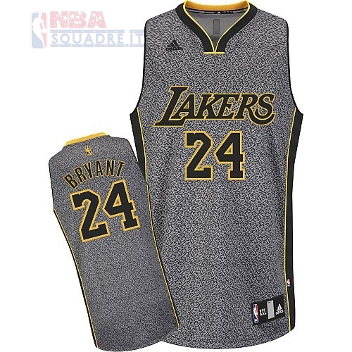 Maglia NBA 2013 Fashion Statico Los Angeles Lakers #24 Bryan Di Buona Qualità